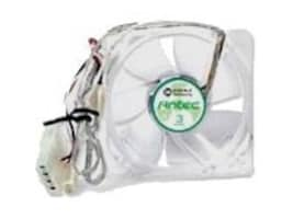 Antec 120mm Fan with 3-Speed Switch, DBB, 3-Pin Monitoring, 4-Pin Power, TRICOOL 120MM DBB, 5420717, Cooling Systems/Fans