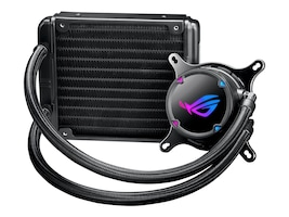 Asus All-in-one liquid CPU cooler with Aura Sync RGB and ROG 120mm radiator fan, ROG STRIX LC 120, 37068666, Cooling Systems/Fans