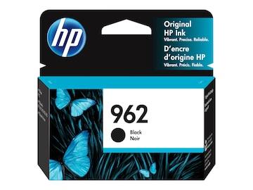 HP 962 (3HZ99AN) Black Original Ink Cartridge, 3HZ99AN#140, 36804684, Ink Cartridges & Ink Refill Kits - OEM