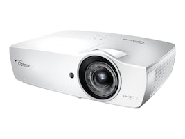 Optoma EH460ST 1080p DLP Projector, 4200 Lumens, White, EH460ST, 34939964, Projectors