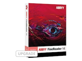 ABBYY FineReader 14.0 Standard Version Upgrade DVD Box, FRSUW14B, 33641322, Software - OCR & Scanner