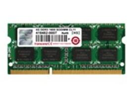 Transcend 4GB PC3-12800 204-pin DDR3 SDRAM SODIMM, JM1600KSH-4G, 17429575, Memory