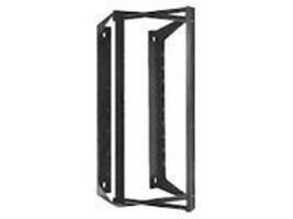 Hubbell Wall Mount Swing Rack, 21U, 36in x 18in, Black (HPWWMR36), HPWWMR36, 348036, Racks & Cabinets