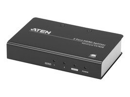 Aten 2-Port True 4K HDMI Splitter , Instant Rebate - Save $10, VS182B, 34267221, Video Extenders & Splitters