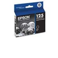 Epson Black 125 Ink Cartridge, T125120-S, 11459802, Ink Cartridges & Ink Refill Kits - OEM