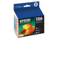Epson Color 126 High-Capacity Ink Cartridges (Multi-pack), T126520-S, 11463414, Ink Cartridges & Ink Refill Kits - OEM