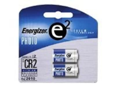 Energizer Advanced Photo Lithium Battery (2-pack), EL1CR2BP2, 33248889, Batteries - Camera