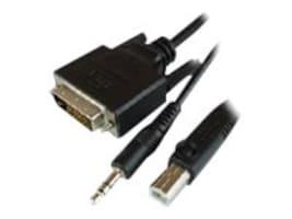 Raritan KVM DVI Dual Link USB Audio Cable, 6ft, RSS-CBL-DVI, 35382264, Cables