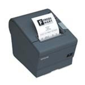 Open Box Epson TM-T88V USB Serial POS Printer - Dark Gray w  PS180 Power Supply, C31CA85084, 36719551, Printers - POS Receipt