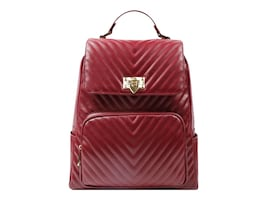 Eco Style Capri Maroon Mini Backpack for Tablets and iPads, SLCPR-BPMR-MINI, 36395534, Carrying Cases - Other