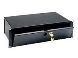 Middle Atlantic Rackmount Lockbox with Keys 3U, LBX-3, 5797750, Rack Mount Accessories