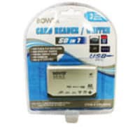 Zonet 50-in-1 Universal Card Reader, CRUNI50, 11861404, PC Card/Flash Memory Readers