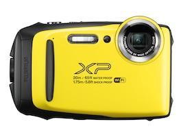 Fujifilm FinePix XP130 Rugged Digital Camera, Yellow, 600019828, 35248321, Cameras - Digital