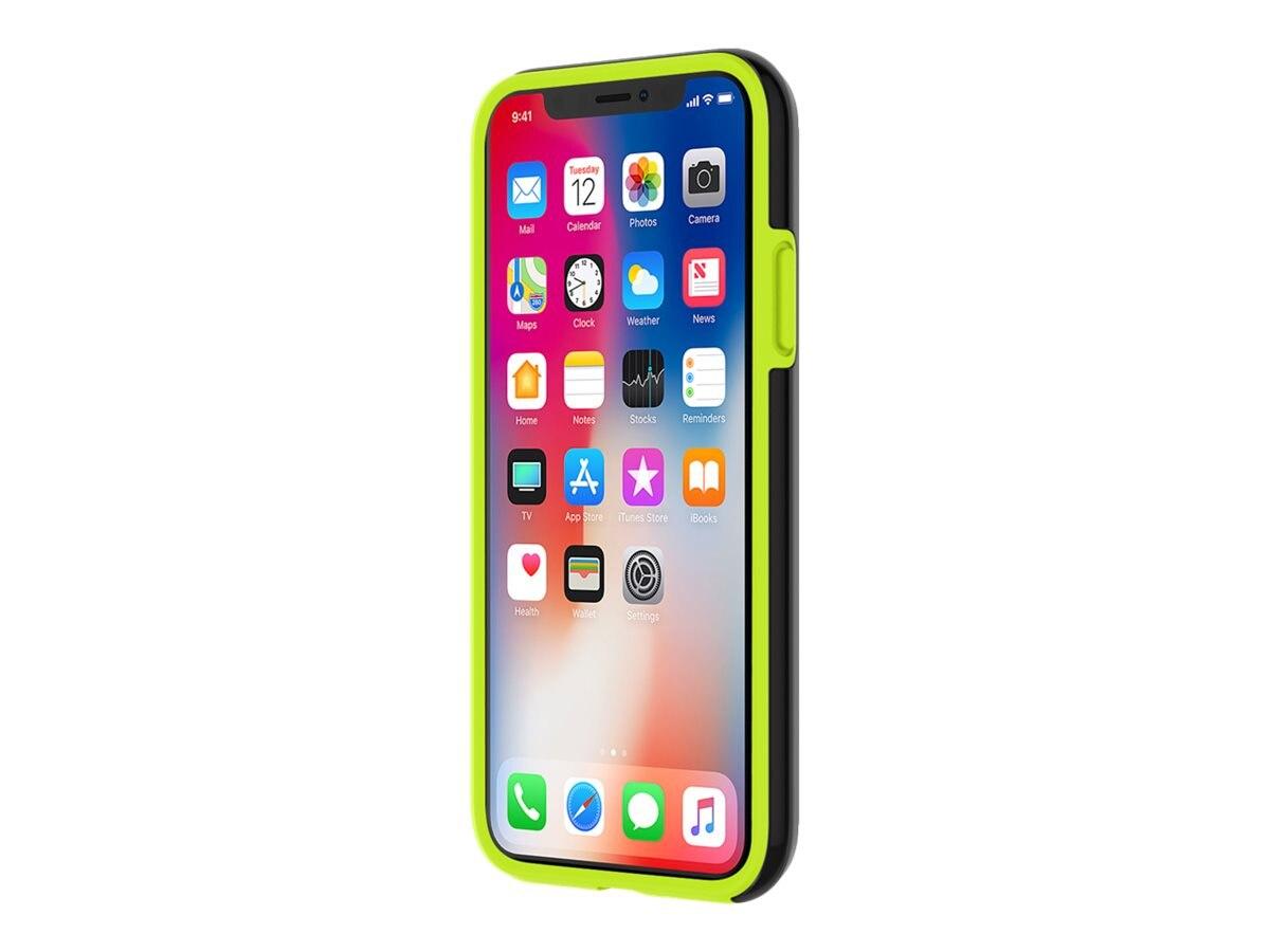 buy online 0f62c 2d13d Incipio DualPro Sport Case for iPhone X, Volt Smoke