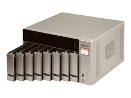 Qnap 8-Bay NAS iSCSI IP-SAN R 4CORE Storage, TVS-873E-8G-US, 35059694, SAN Servers & Arrays