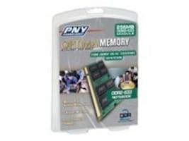 PNY 1GB PC2-4200 533MHz 200-pin DDR2 SDRAM SODIMM Memory Module, N1GX43OPT, 6661766, Memory