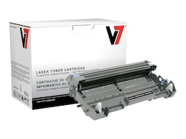 V7 DR620 Black Drum Unit for Brother MLC-8480DN (TAA Compliant), DBK2DR620, 13731654, Toner and Imaging Components