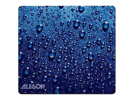 Allsop Raindrop Mouse Pad Blue, 30182, 11000778, Ergonomic Products