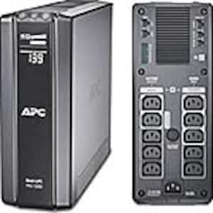Scratch & Dent APC Power-Saving Back-UPS Pro 1500VA 865W 230V Intl C14 Input 6ft Cord (10) C13 Outlets, BR1500GI, 38079922, Battery Backup/UPS
