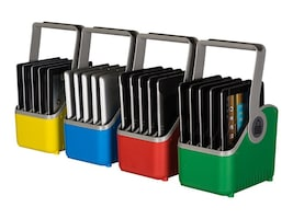Lock N Charge Plastic 5 Slot Device Basket, 4-Pack, LNC7052, 17657295, Cart & Wall Station Accessories