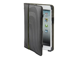 Cyber Acoustics BLACK LEATHER IPAD MINI COVER, MM-400, 41053143, Carrying Cases - Notebook