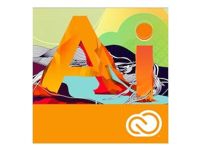 Adobe Corp. VIP Illustrator CC Enterprise Lic Sub Level 20 6    Months, 65291030BA20A12, 37788081, Software - Graphics Suites