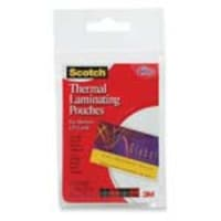 3M 2.36 x 3.74 Thermal Pouches for Business Cards, 20-Pack, TP5851-20, 12268127, Office Supplies