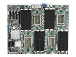 Tyan Motherboard, AMD SR5690, Quad Opteron 12C 6100, Max 256GB DDR3, 4PCI-E, 3GBE, Vid, SAS SATA, S8812WGM3NR, 11274162, Motherboards