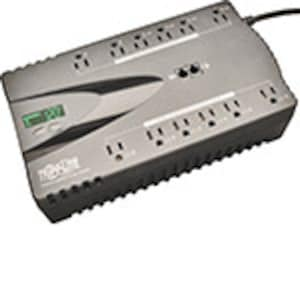Tripp Lite ECO 850VA 425W 120V Energy-saving Standby UPS, USB Port, (12) 5-15R Outlet, ECO850LCD, 12677342, Battery Backup/UPS
