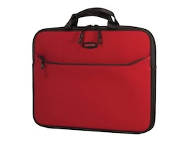 Mobile Edge 14 SlipSuit Sleeve, Crimson Red, MESS6-14, 35401197, Carrying Cases - Notebook