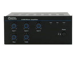 Atlas Sound 3 Input 60W 25V 70V 100V 8 Mixer Amplifier, AA60, 36153543, Stereo Components