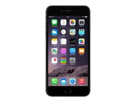 Refurb. Ereplacements iPhone 6, 64GB, Unlocked, Gray, IPH6GR64U, 35135802, Cell Phones - iPhone Standard Models