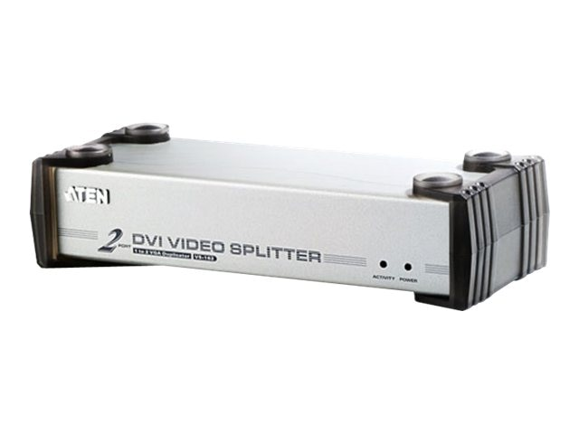 Aten 2-Port DVI Video Splitter, VS162, 6605959, Video Extenders & Splitters