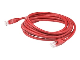 AddOn Cat6 UTP PVC Copper Patch Cable, Red, 1ft, ADD-1FCAT6-RED, 36410280, Cables