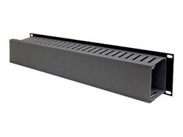 Belkin Cable Management Panel, 2U x 19, F4D339, 206759, Rack Cable Management