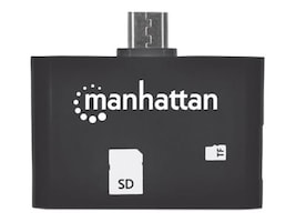 Manhattan imPORT SD 24-in-1 Card Reader Writer, 406208, 32254734, PC Card/Flash Memory Readers