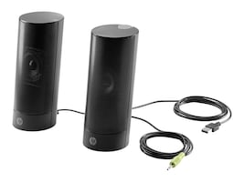 HP USB Business Speakers v2, N3R89AT, 31953621, Speakers - PC