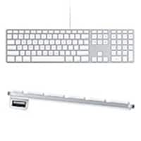Apple Keyboard with Numeric Keypad, MB110LL/B, 13055668, Keyboards & Keypads