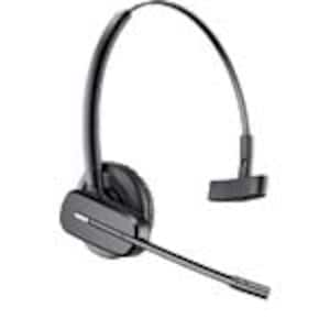 Plantronics Bundle CS540 Convertible Headset, DECT 6.0 w APV-63 Electronic Hook Switch Cable, 84693-01/38734-11, 34521496, Headsets (w/ microphone)