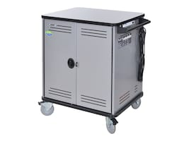 Spectrum Industries Spectrum Cloud40 Cart with Power Prodigy, 5 Balloon Wheels, 55470-ABD, 33401581, Computer Carts