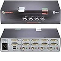 Avocent USB DVI-I SwitchView KVM Switch, 4-Port, SC740-001, 13126841, KVM Switches