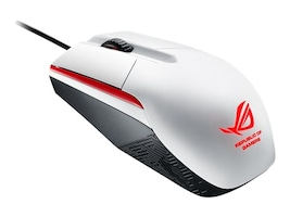 Asus ROG SICA WHITE Main Image from Left-angle