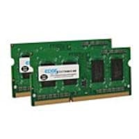 Edge 4GB PC3-10600 204-pin DDR3 SDRAM SODIMM Kit, PE22546902, 13483321, Memory