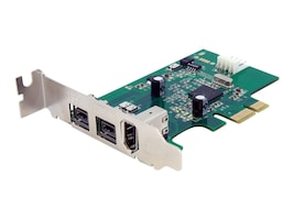 StarTech.com PCIe Firewire Card, PEX1394B3LP, 11075139, Network Adapters & NICs