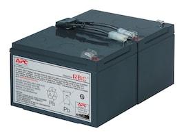 APC Replacement Battery Cartridge #6 for SU700, SU1000, SU1000NET, SM1500RM models, RBC6, 58493, Batteries - UPS
