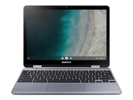 Samsung Chromebook Plus Celeron 3965Y 1.5GHz 4GB 32GB SSD ac BT 2xWC 12.2 FHD MT Chrome OS, XE521QAB-K02US, 36408884, Notebooks - Convertible