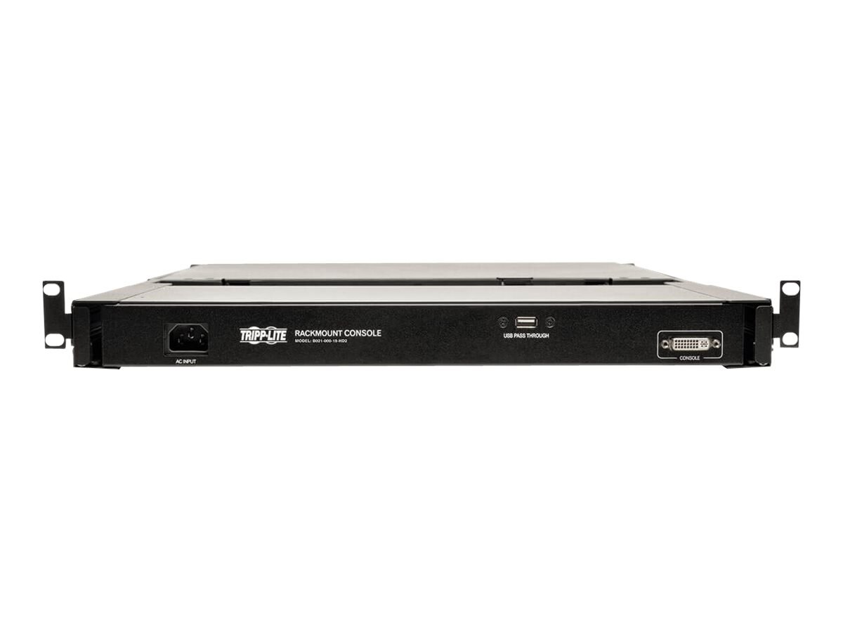 "Tripp Lite Rack-Mount Console, 1U x 19"" LCD, 1920 x 1080 (B021-000 ..."