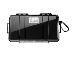 Pelican 1060 Solid Micro Case, Matching Liner, 8.25 x 4.25 x 2.25, Black, 1060-025-110, 25236802, Carrying Cases - Other