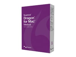 Nuance Dragon for Mac Medical 5.0 DVD, T301A-G00-5.0, 31851810, Software - Voice Recognition