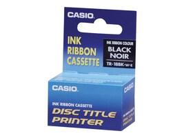 Casio Black Thermal Ink Ribbon, TR-18BK, 12376312, Printer Ribbons